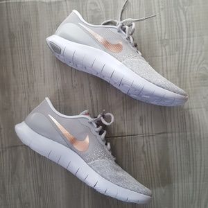 566c48954d98 Nike Shoes - NEW Rose Gold Nike Flex Contact running shoes 11